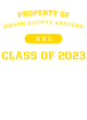 Mason County Eastern Sport-Tek Long Sleeve Youth Posi-UV Pro Tee