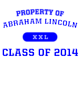 Abraham Lincoln Nike Legend Tee