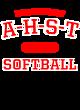 A-h-s-t Ladies Sport-Wick Heather Fleece Hooded Pullover