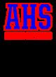 A-h-s-t Embroidered Sport Tek Raglan Jacket