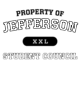 Jefferson Fan Favorite Heavyweight Hooded Unisex Sweatshirt