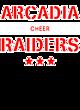 Arcadia Ladies Tri-Blend Wicking Fan Tee