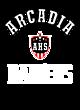 Arcadia Ladies Long Sleeve Tri-Blend Wicking Raglan Tee