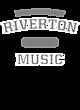 Riverton New Era Ladies Tri-Blend Hooded Sweatshirt