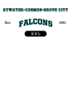 Atwater-cosmos-grove City Womens Lightweight Fleece Raglan Hoodie