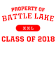 Battle Lake Classic Fit Heavy Weight T-shirt