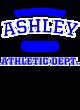 Ashley Tri-Blend Ladies Long Sleeve Hooded T-shirt