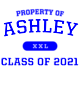 Ashley New Era Ladies Tri-Blend Performance Baseball Tee