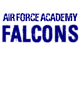Air Force Academy Ladies Scorecard T-Shirt