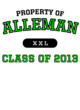 Alleman Competitor Hooded Pullover