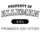 Alleman Long Sleeve Competitor Cotton Touch Training Shirt