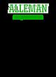 Alleman Ladies Sport-Wick Heather Fleece Hooded Pullover