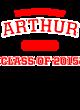 Arthur Tri-Blend Wicking Long Sleeve Hoodie