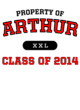 Arthur Adult Baseball T-Shirt