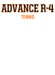 Advance R-4 Fan Favorite Heavyweight Hooded Unisex Sweatshirt