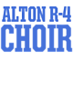 Alton R-4 New Era Ladies Sueded Cotton Blend Cowl Tee