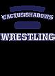 Cactus Shadows Womens Long Sleeve V-Neck Competitor T-Shirt