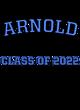Arnold Long Sleeve Tri-Blend Wicking Raglan Tee