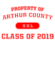 Arthur County Classic Fit Heavy Weight T-shirt