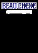 Beau Chene Womens Sport Tek Heavyweight Hooded Sweatshirt