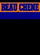 Beau Chene Champion Women�s Reverse Weave Crop Hoodie