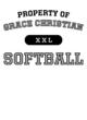 Grace Christian Heathered Short Sleeve Performance T-shirt