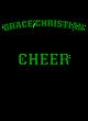 Grace Christian Youth Electric Heather Hooded Sweatshirt
