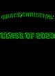 Grace Christian New Era Ladies Heritage Blend Varsity Hoodie