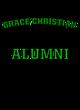 Grace Christian Tri-Blend Ladies Long Sleeve Hooded T-shirt