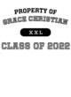Grace Christian Youth Cutter Jersey