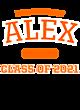 Alex Womens Scorecard Crop Tee