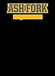 Ash Fork Womens V-Neck Competitor T-shirt
