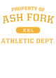 Ash Fork Womens Scorecard Crop Tee