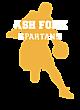 Ash Fork Youth Heavyweight Sleeve Stripe Hooded Sweatshirt