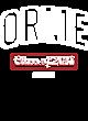 Orme Youth Heavyweight Sleeve Stripe Hooded Sweatshirt