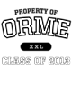 Orme Classic Fit Heavy Weight T-shirt