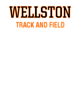 Wellston Womens Long Sleeve V-Neck Competitor T-Shirt