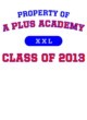 A Plus Academy Adult Competitor T-shirt