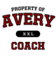 Avery Classic Fit Heavy Weight T-shirt
