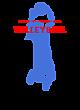 Amon Carter-Riverside Ladies Ombre V-Neck Tee