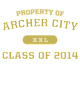 Archer City Nike Dri-FIT Cotton/Poly Tee