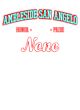 Ambleside San Angelo Classic Fit Heavy Weight T-shirt