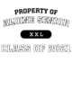 Aldine Senior Classic Fit Heavy Weight T-shirt