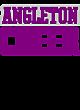 Angleton New Era Ladies Tri-Blend Scoop Tee