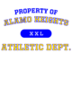 Alamo Heights Russell Essential Hooded T-Shirt