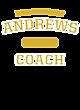 Andrews New Era Tri-Blend Pullover Hooded T-Shirt