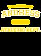 Andress Ladies Sport-Wick Heather Fleece Hooded Pullover