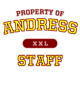 Andress Youth Baseball T-Shirt