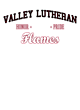 Valley Lutheran Ladies Tri-Blend Wicking Fan Tee