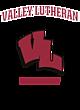 Valley Lutheran Tri-Blend Wicking Short Sleeve Hoodie